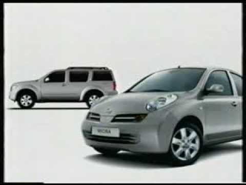 anuncio nissan micra 2005 youtube. Black Bedroom Furniture Sets. Home Design Ideas