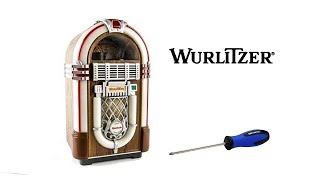 Wurlitzer Jukebox Plays Tiny 8-Track Tapes