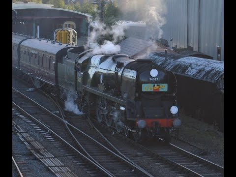 Severn Valley Railway Pacific's Power Weekend Sunday 25th September 2016