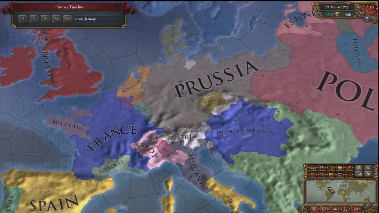Europa Universalis 4 - Teutonic Order - Prussia - Germany (1444 ...