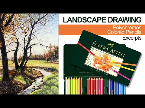 landscape-drawing-with-colored-pencils