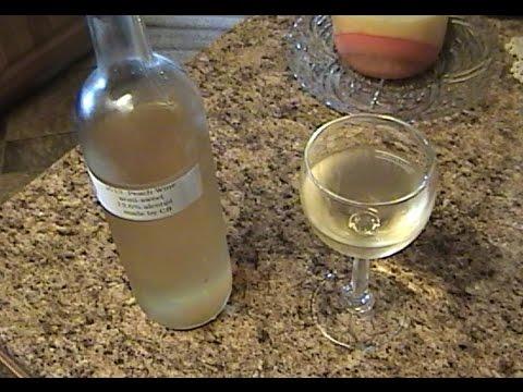 Making Homemade Peach Wine
