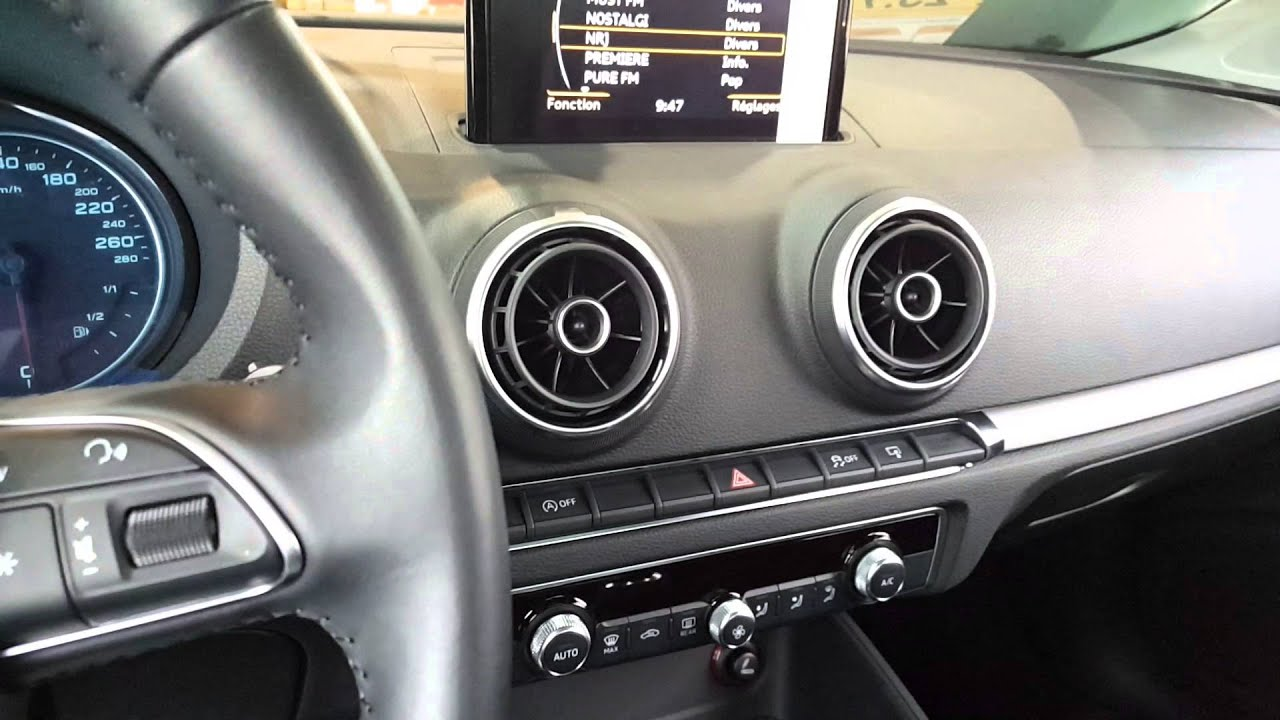 audi a3 2015 8v audi sound system youtube. Black Bedroom Furniture Sets. Home Design Ideas