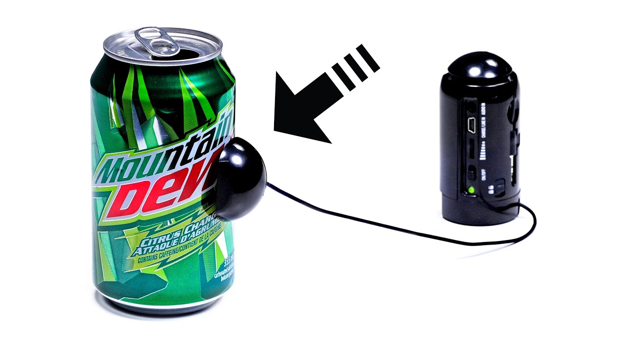 Turn ANYTHING into a Speaker!