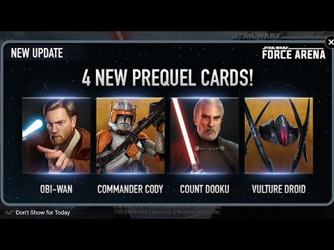 New Update! New Leaders!! More Awesomeness!!! (Star Wars: Force Arena)