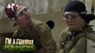 Snake Rock Endure The Trailer Of Terror | I'm A Celebrity...Get Me Out Of Here!