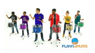 PLAYN DRUMS | Power Rangers Drumline Feature |