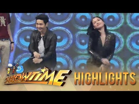 "It's Showtime: Maja and Tor Saksit's ""Taga-Saan Ka?"" challenge"
