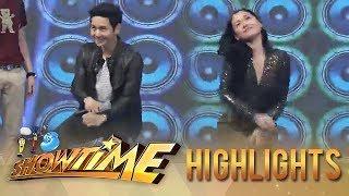 "It's Showtime: Maja and Tor Saksit's ""Taga-Saan Ka?"" challenge"