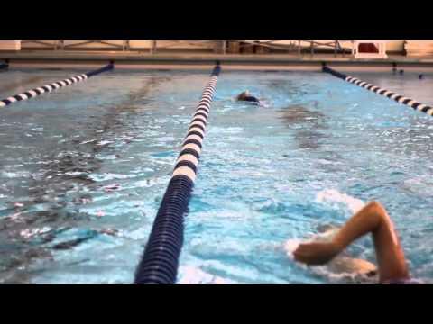 Inaugural Splash - Swim Team In The New Luther College Aquatic Center