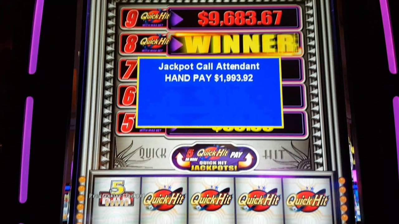 Casino slot wins this week