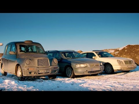 Chris vs Matt vs Rory in Kazakhstan Race | Top Gear Series 2
