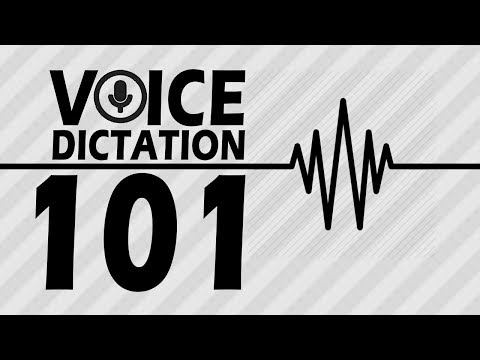 Voice Dictation 101 For Android & IOS - Punctuation, Emojis, & More