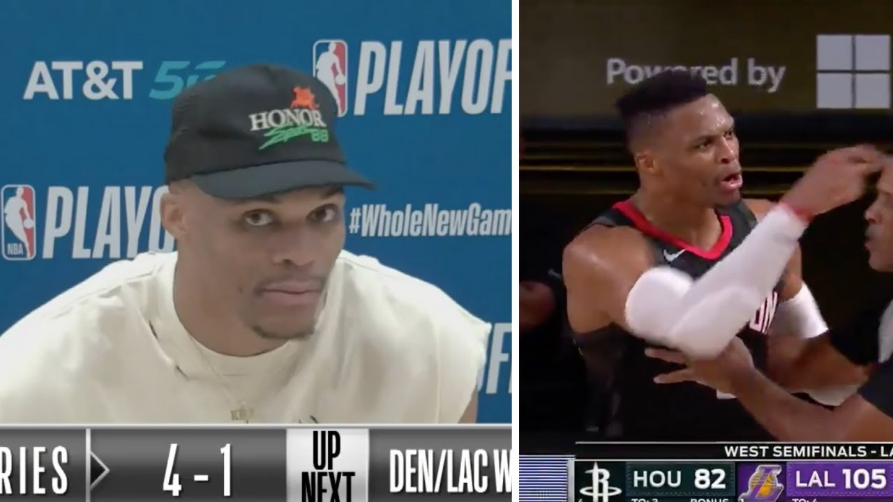 """Russell Westbrook REACTS to Rajon Rondo BROTHER calling him TRASH """"He Suppose to shut yo mouth"""""""