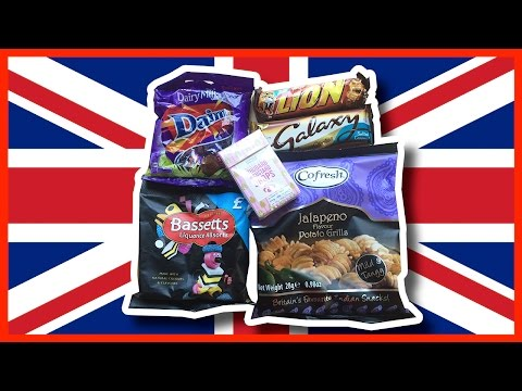 6 Treats from Great Britain thanks Wendy