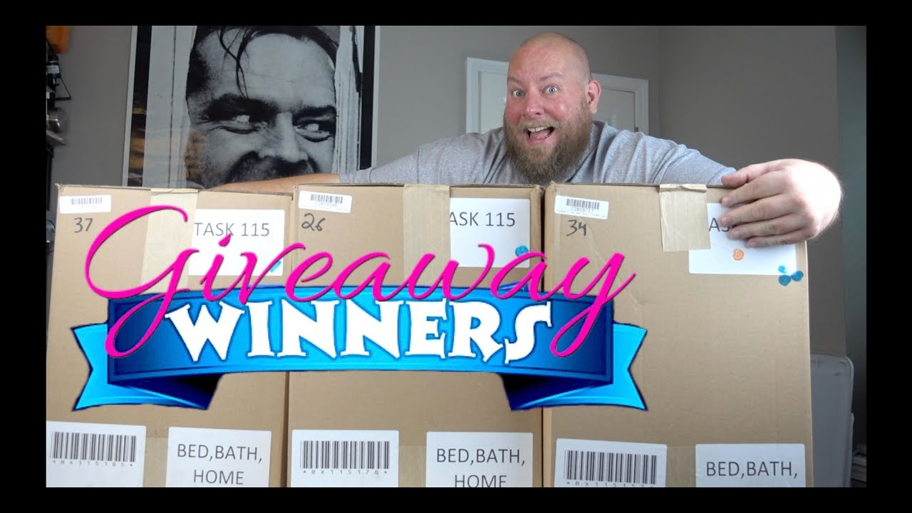 GIVEAWAY WINNERS ANNOUNCED! Opening a $1,657 Amazon Customer Returns