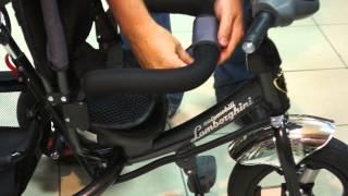 видео детский трехколесный велосипед