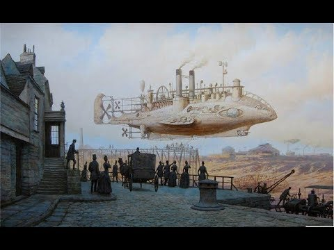 СТИМПАНК - ДОПОТОПНЫЕ Технологии 19-го века