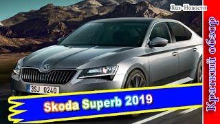 Авто обзор - Новая Skoda Superb 2019 года: практичный автомобиль для любителей комфорта