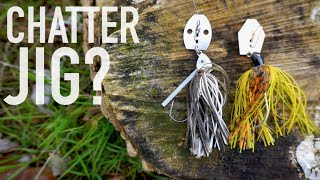 How To Create A Chatterbait Out of Any Jig -- Bass Fishing Tips