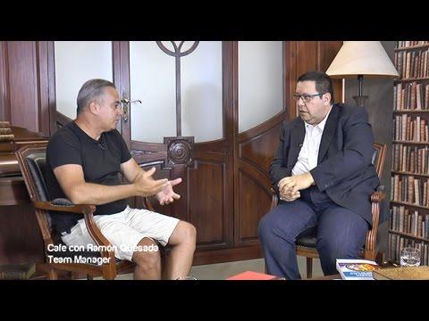 Cafe con... Ramón Quesada, Team Manager y promotor del Bitcoin