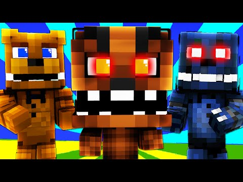 FNAF World - AUTO CHIPPER BOSS! (Minecraft Roleplay) Night 5