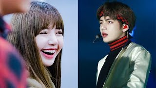 BTS` Taehyung Fanboying over BLACKPINK Many Times, It`s Now Lisa`s Turn to Fangirl over BTS