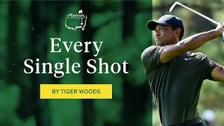 Every shot from Tiger Woods' first round   The Masters
