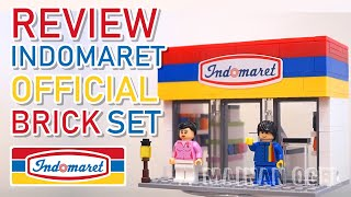 Indomaret Store Brick Set by WiKi Bricks - Official from Indomaret [REVIEW]