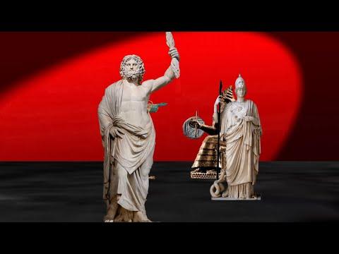 The War in Heaven: Olympians vs Titans(Greek Mythology)