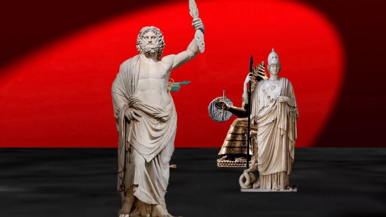 the war in heaven olympians vs titans greek mythology youtube