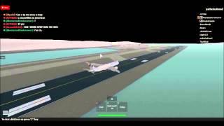 Etihad Airways|First Flight for Boeing 787 Landing scene| Roblox