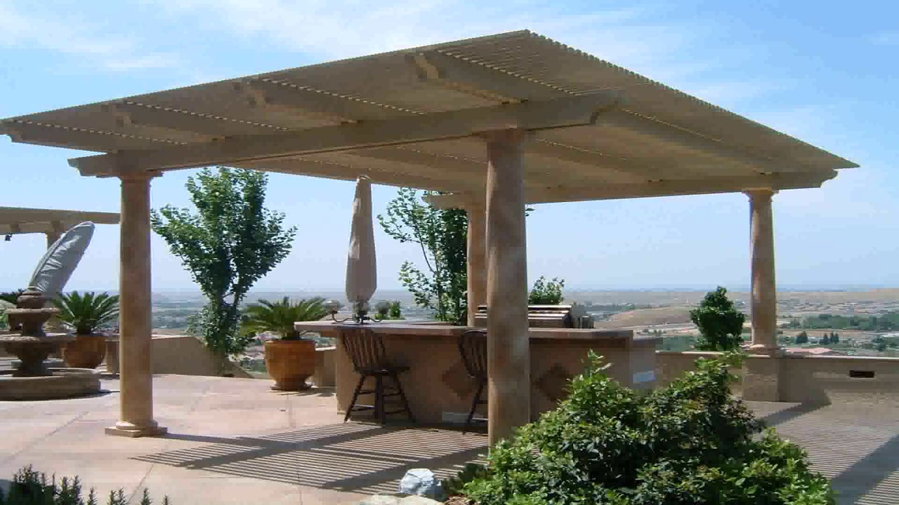 Free Standing Wood Patio Cover Designs - DaddyGif.com (see ... on Detached Patio Ideas id=74460