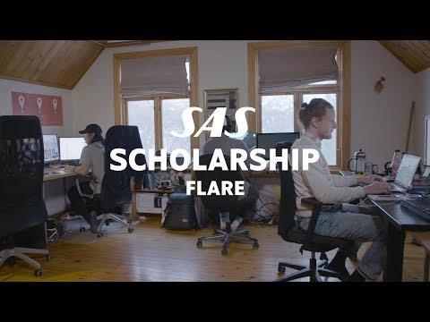 Flare smartphone app gets SAS Scholarship