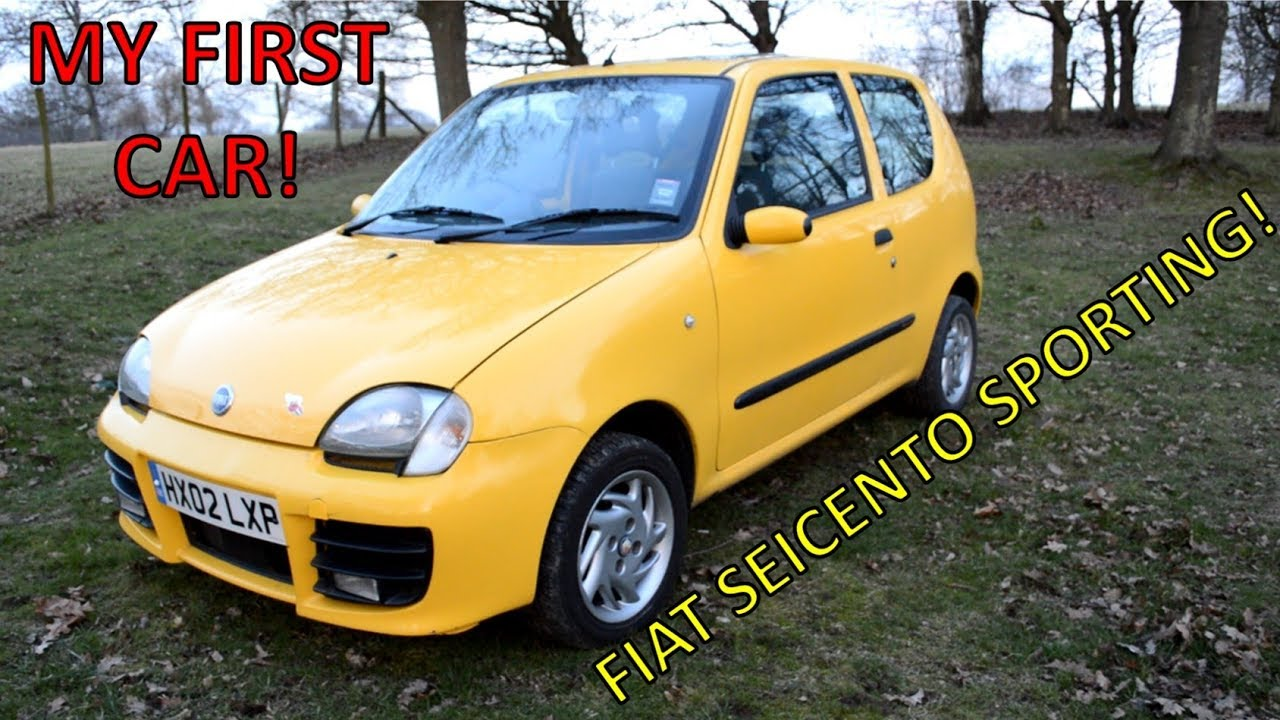 tour of my fiat seicento sporting youtube. Black Bedroom Furniture Sets. Home Design Ideas