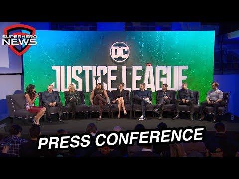 Justice League Press Conference