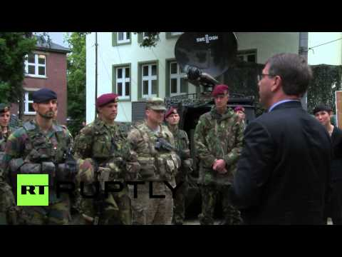 """Germany: Carter praises """"unified"""" NATO at VJTF meeting"""