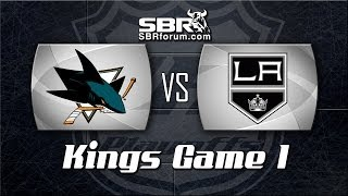 NHL Picks: San Jose Sharks vs. Los Angeles Kings Game 1