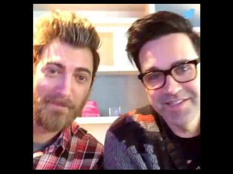 Rhett & Link Book of Mythicality Live Twitter Q&A