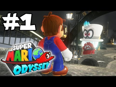 Super Mario Odyssey 100% Walkthrough Part 1: R.I.P. My Hat thumbnail
