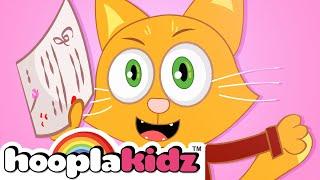 The Kitty Cat Song + More Nursery Rhymes & Kids Songs - HooplaKidz