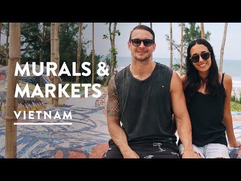 EXPLORING CENTRAL VIETNAM & HOI AN MARKETS | Travel Vlog 066, 2017 | Digital Nomad