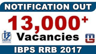 IBPS   CWE   RRB   PO   CLERK VI 2017   NOTIFICATION OUT 2017 Video