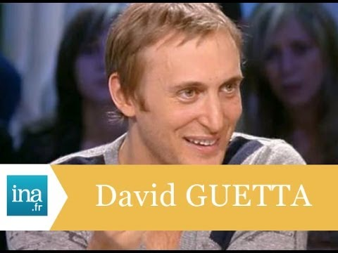 """David Guetta """"Mon secret, c'est l'amour avec Cathy"""" - Archive INA"""