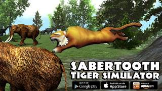 Furious Sabertooth Tiger Family Simulator 3D, By Gluten Free Games-IOS/Android