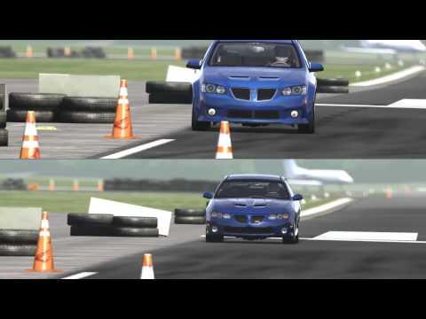 Pontiac G8 GXP vs GTO Around the Top Gear Track