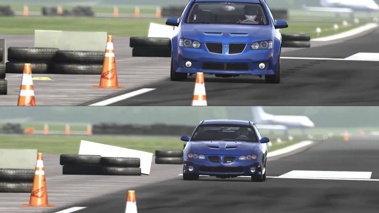 pontiac g8 gxp vs gto around the top gear track youtube. Black Bedroom Furniture Sets. Home Design Ideas