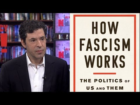 """How Fascism Works"": Jason Stanley On Trump, Bolsonaro and the Rise of Fascism Across the Globe"