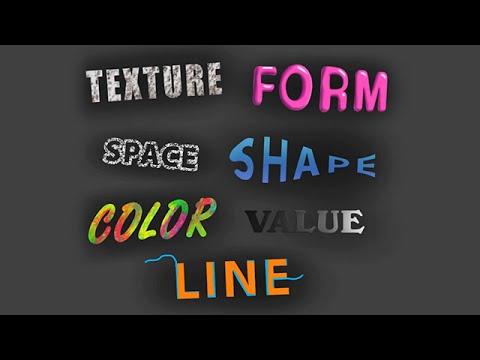 7 Elements Of Art (Digital Art Tutorial) - YouTube