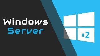 Windows Server #2: Active Directory: konta, grupy, profil mobilny